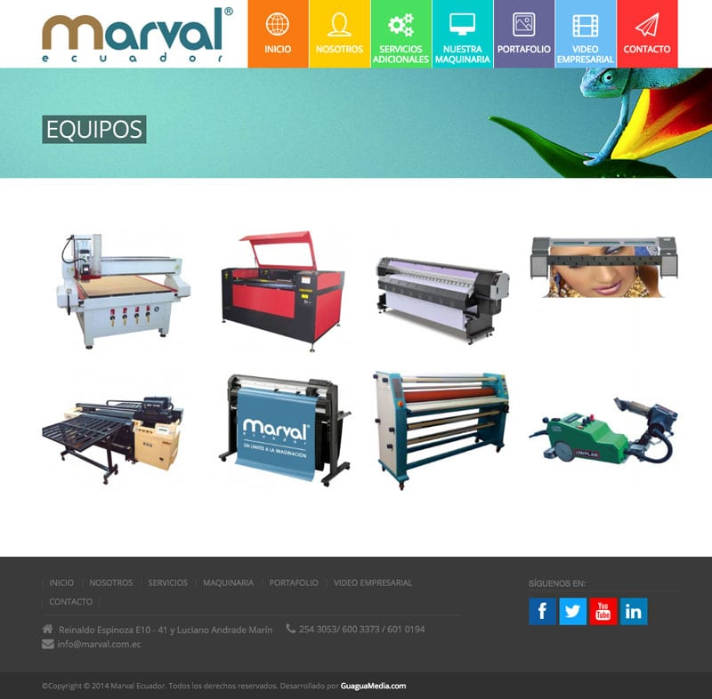 marval equipos